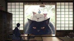 Японски художник рисува големи дружелюбни животни