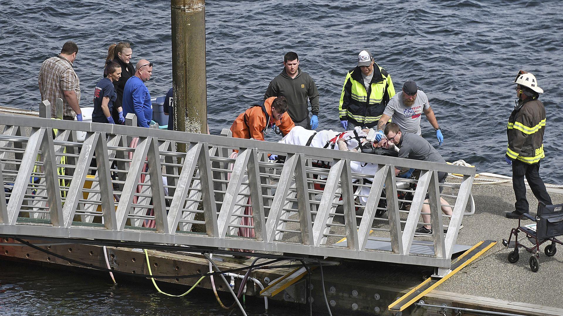 Петима загинаха при сблъсък на два хидроплана край Аляска