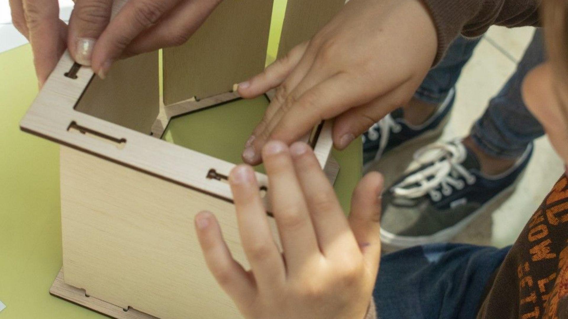 Работилница за малките или как да направим къщичка за птици.