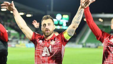 ЦСКА ще подбира внимателно мачовете за капитана си заради травмата му