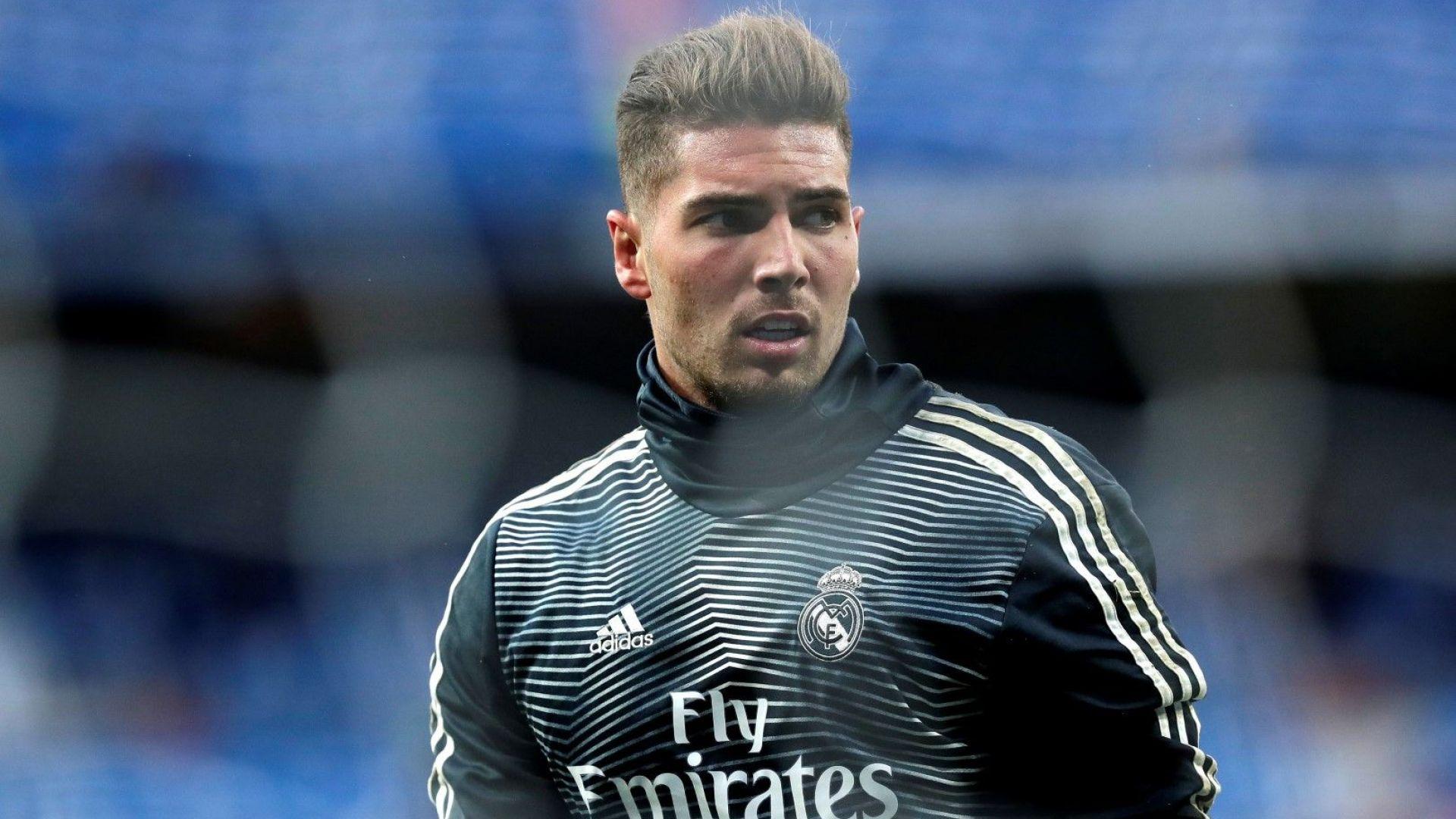 Зидан лансира сина си за втори вратар на Реал