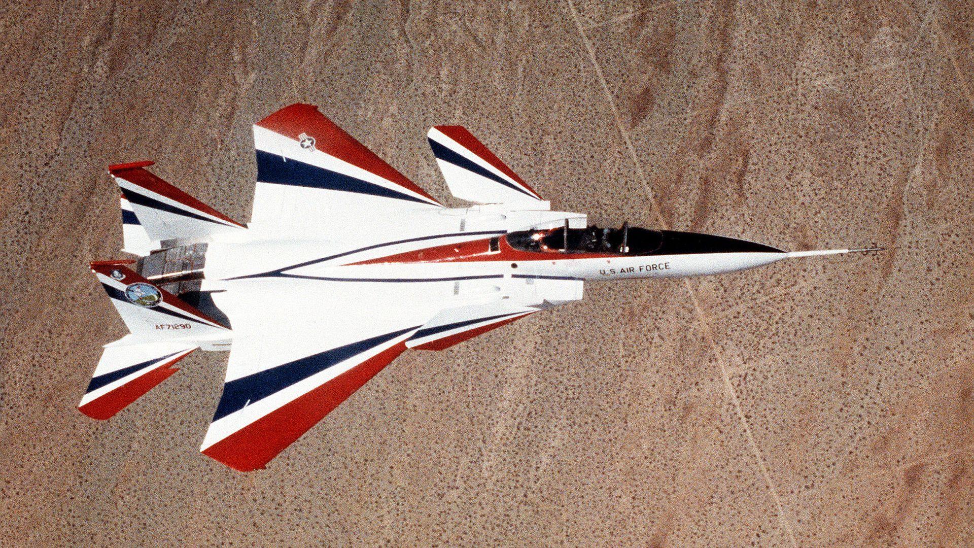 McDonnell Douglas F-15 STOL/MTD
