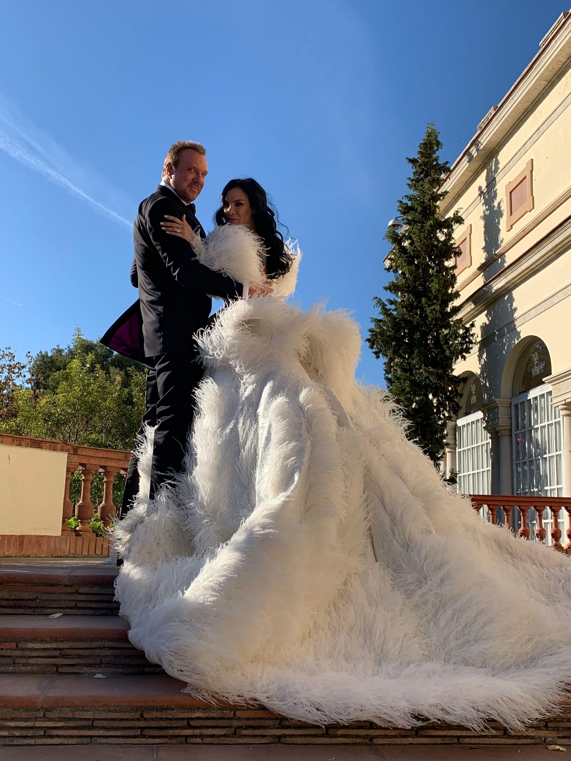 Сватбата на Цеци Красимирова и Майкъл Струмейтис