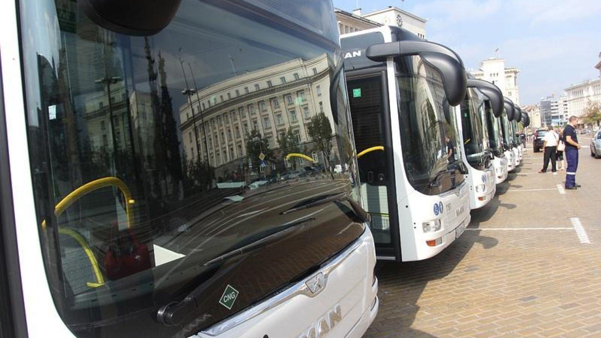 Двайсет нови автобуса МАН тръгват по столичната линия 11