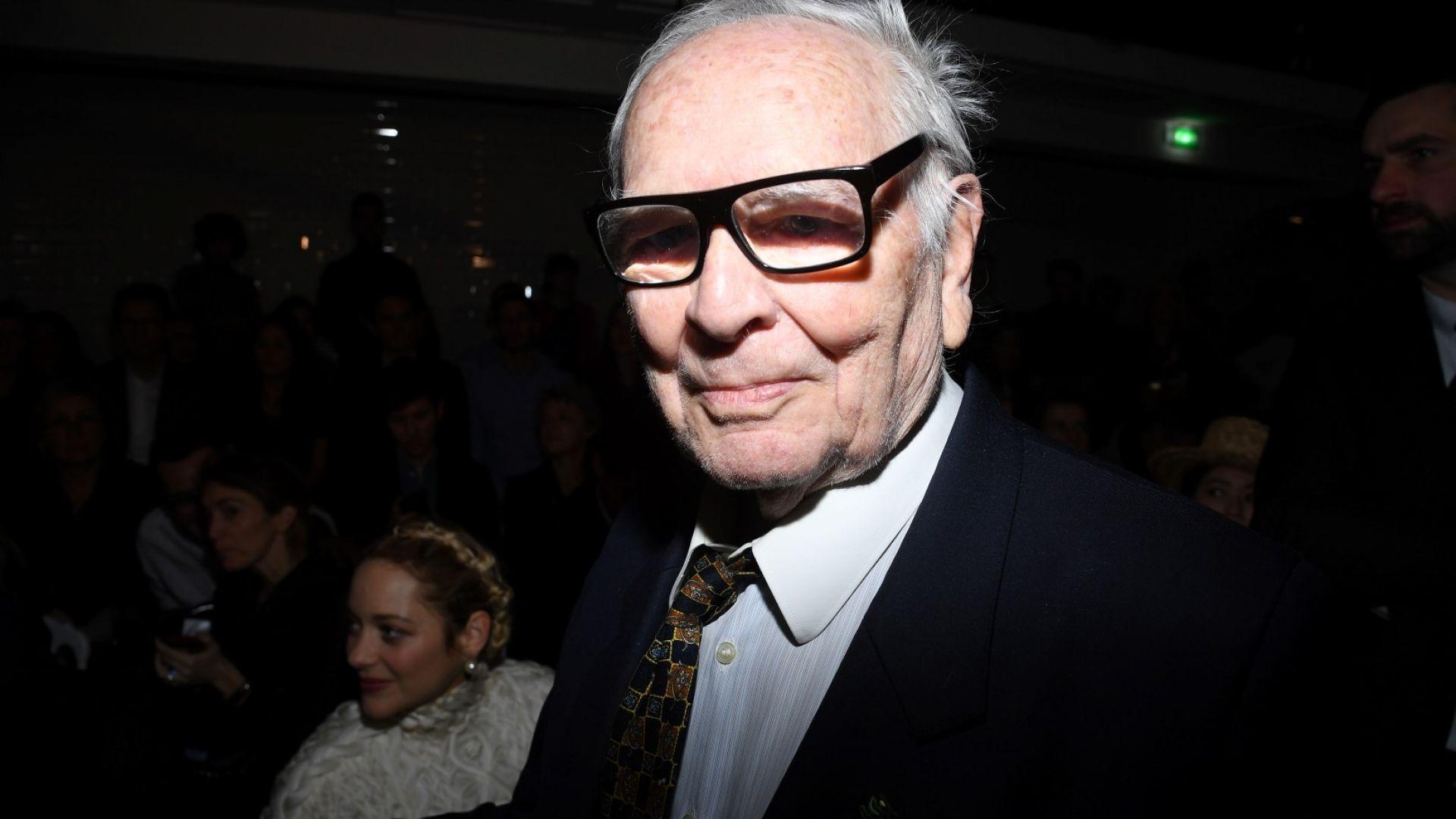 96-годишният Пиер Карден се готви да се оттегли