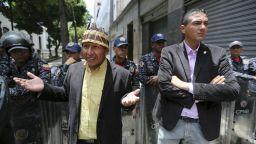 Боливарската гвардия блокира доминирания от опозицията венецуелски парламент