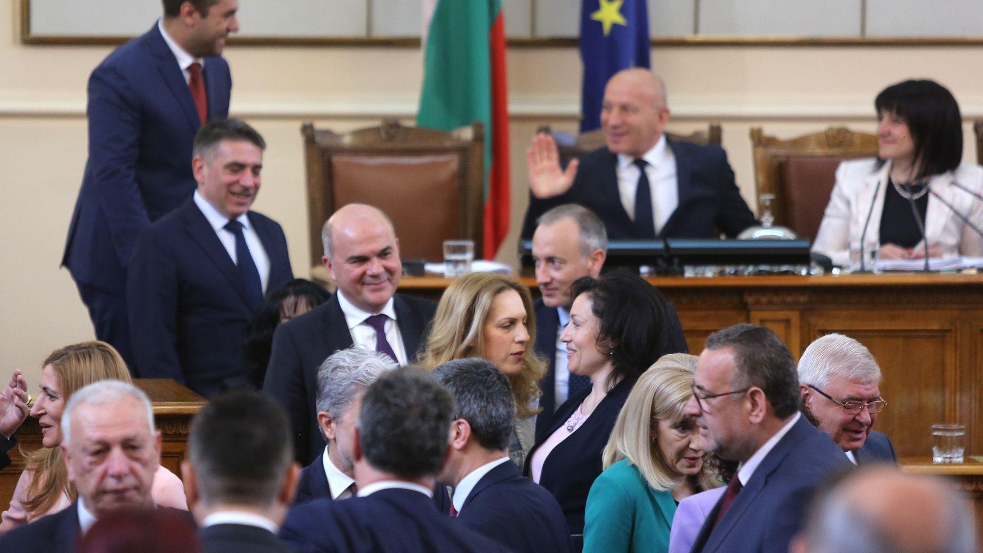 Танева получи поздравления от други министри