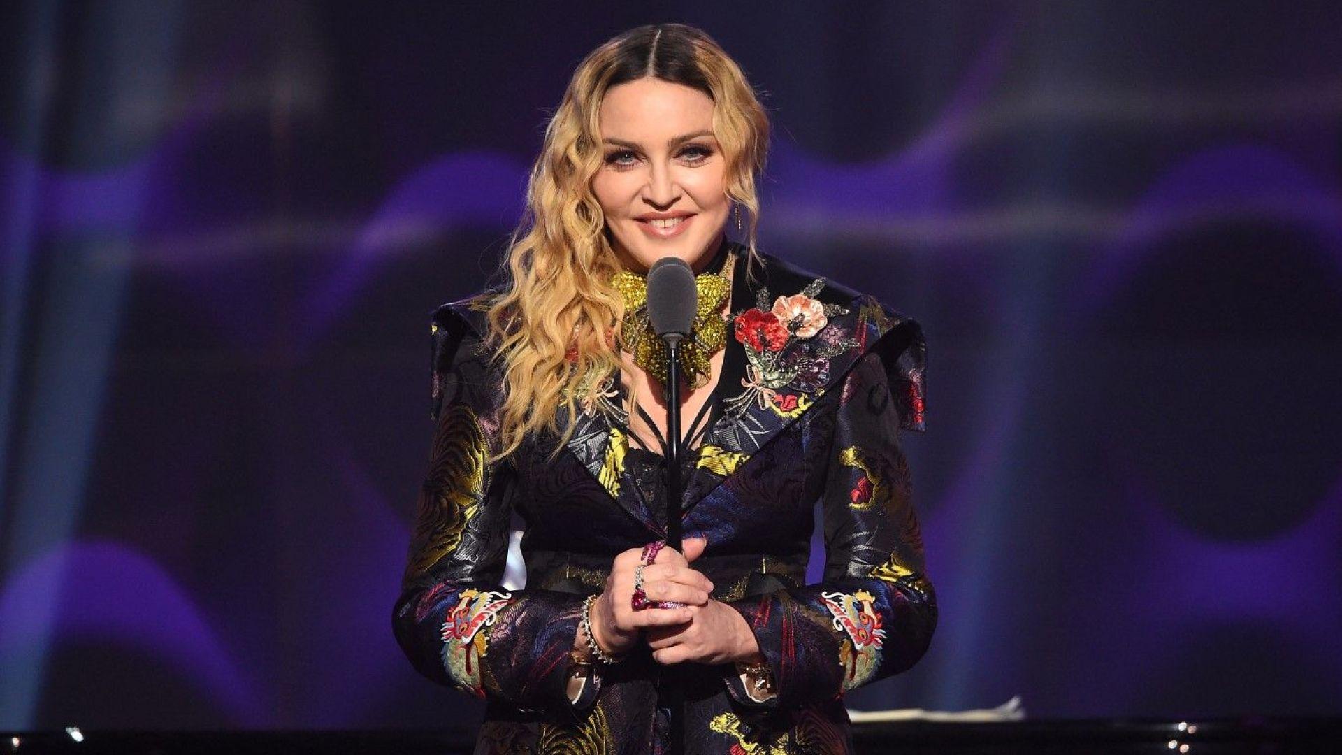 """Мадона пристигна в Израел за """"Евровизия"""""""