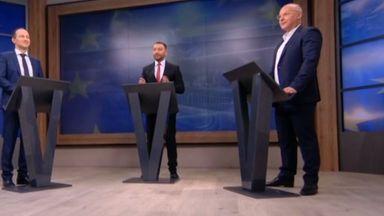 Сергей Станишев и Андрей Ковачев с европейски сблъсък в тв дебат (видео)