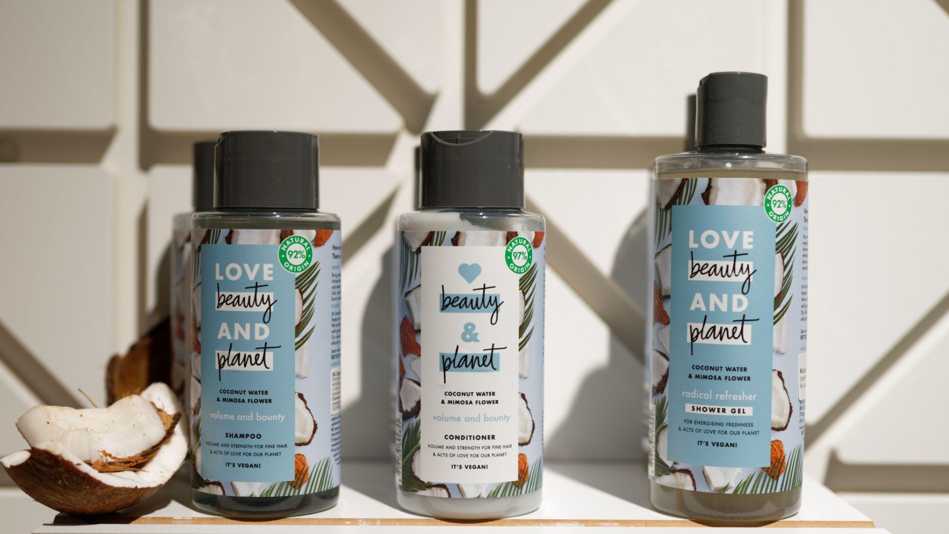 Love Beauty and Planet е новият бранд козметични продукти с грижа за околната среда