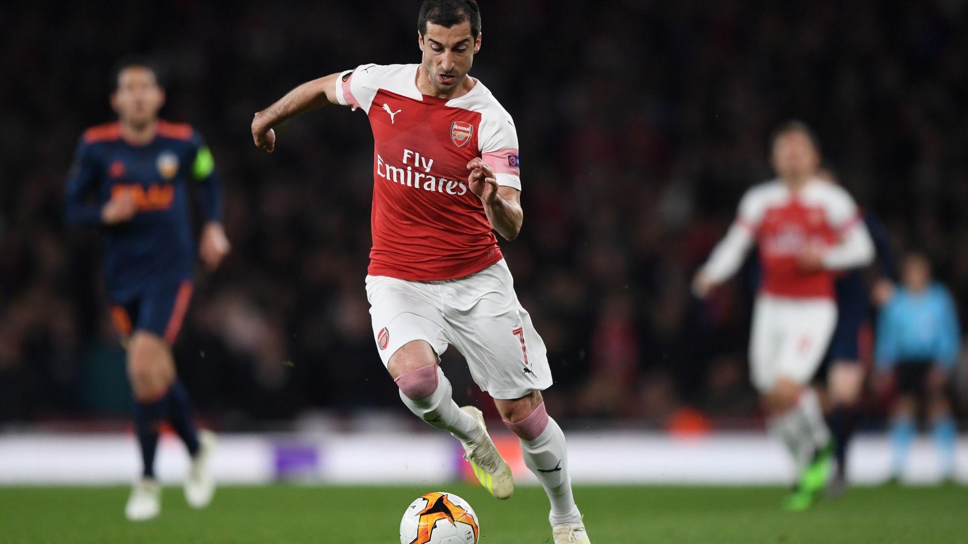 Арсенал реши да не рискува с арменеца Мхитарян в Баку