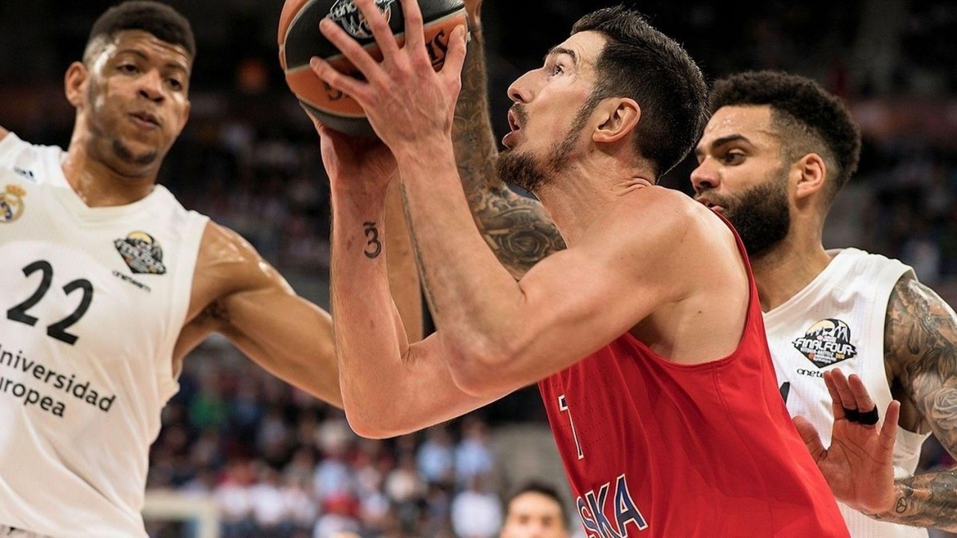 ЦСКА удари Реал Мадрид, Европа ще има нов баскетболен крал