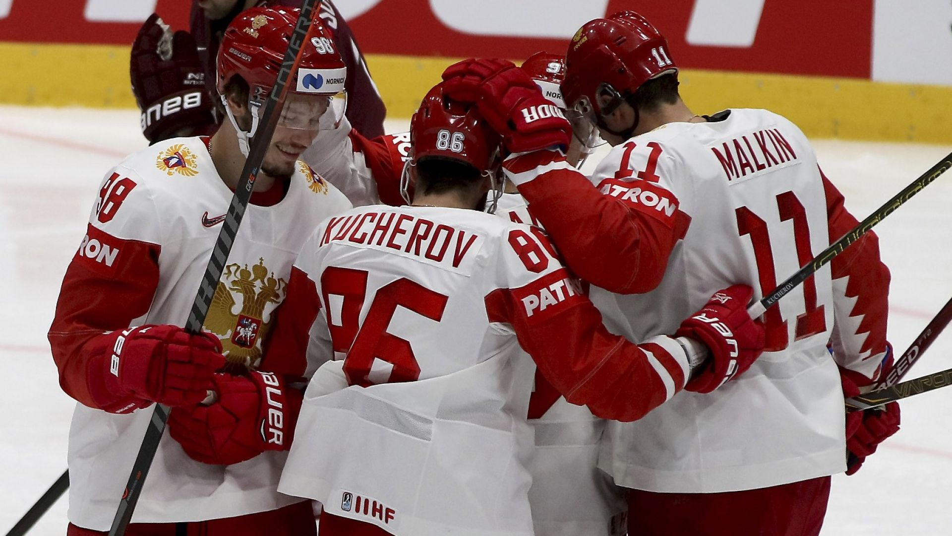 Русия е първият четвъртфиналист на Световното по хокей