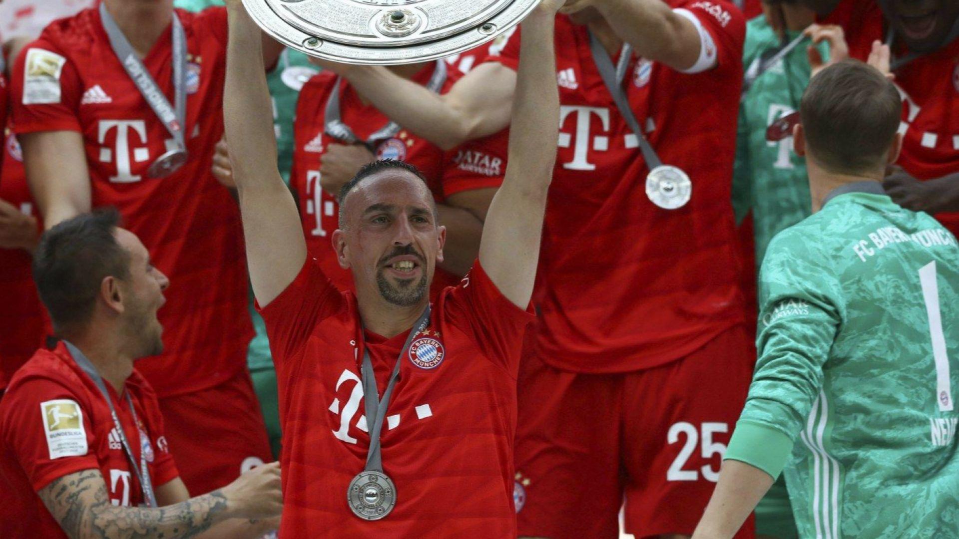 5-звезден Байерн отново е шампион на Германия