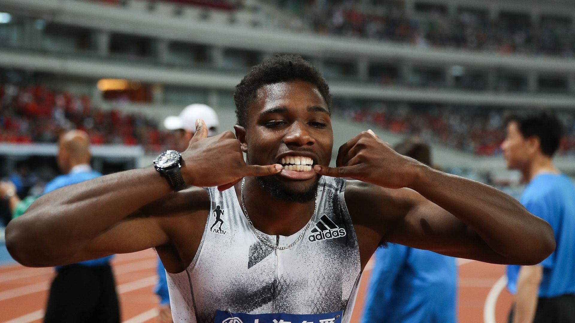 Изключителен финал на 100 м в Китай, 0.006 сек решиха титлата