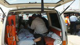 Бомба избухна до туристически автобус в Кайро