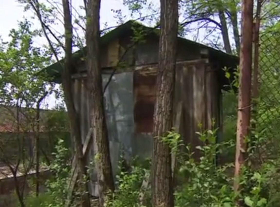 Къщата, където се предполага, че Зайков се е крил
