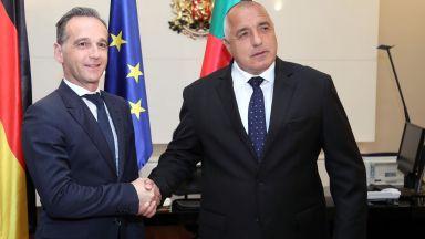 Борисов и Маас отчетоха 154 млн. евро инвестиции от Германия само за година