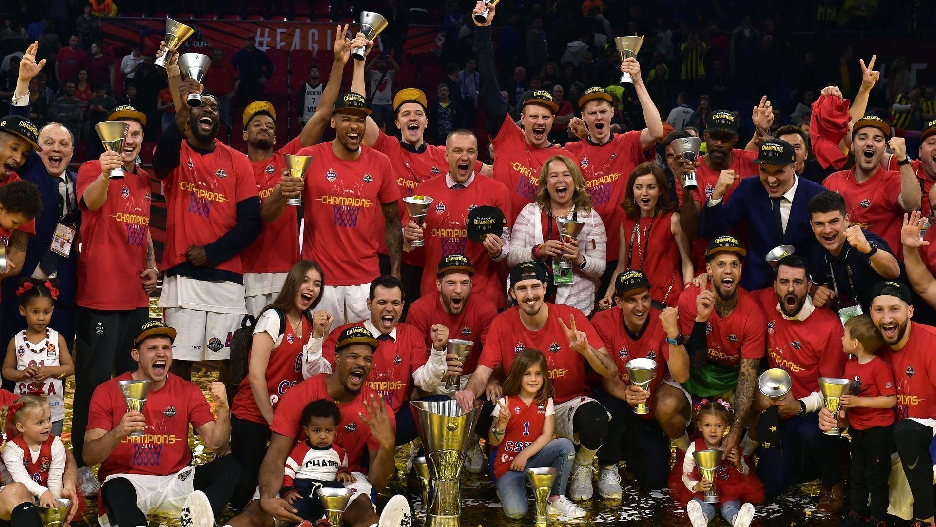 ЦСКА е новият шампион на Европа