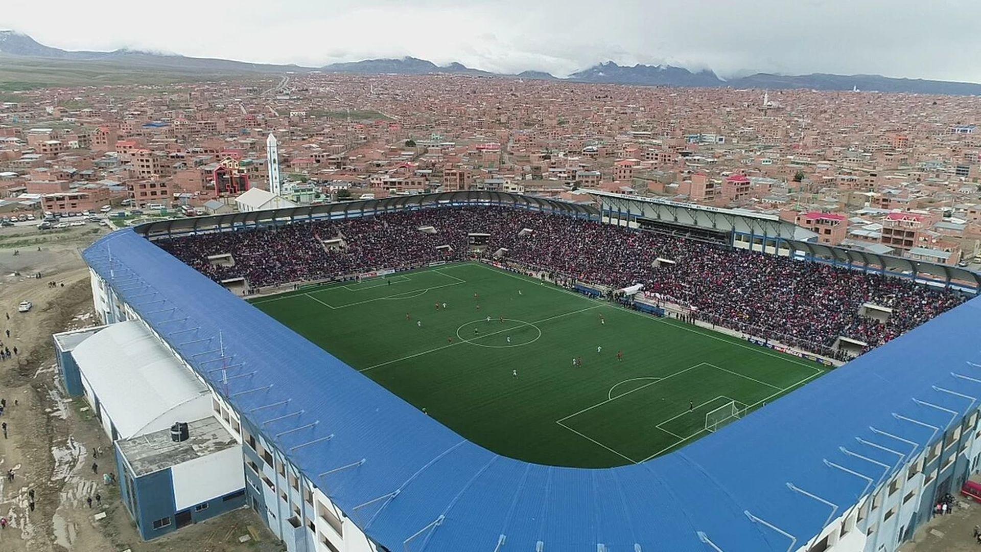 Стадионът в Ел Алто, Боливия