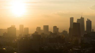 Замърсяването на въздуха в Пекин деветкратно е надвишило  нормата на СЗО