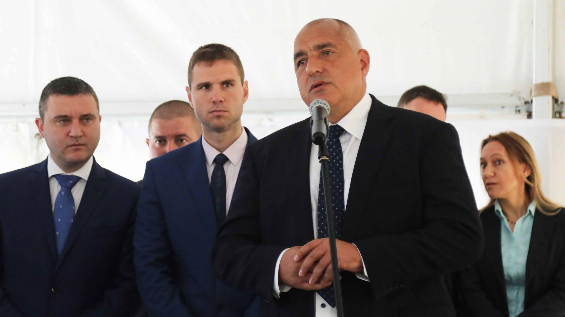 Борисов и Плевнелиев откриха разширението на завода за авточасти в Пазарджик (видео)