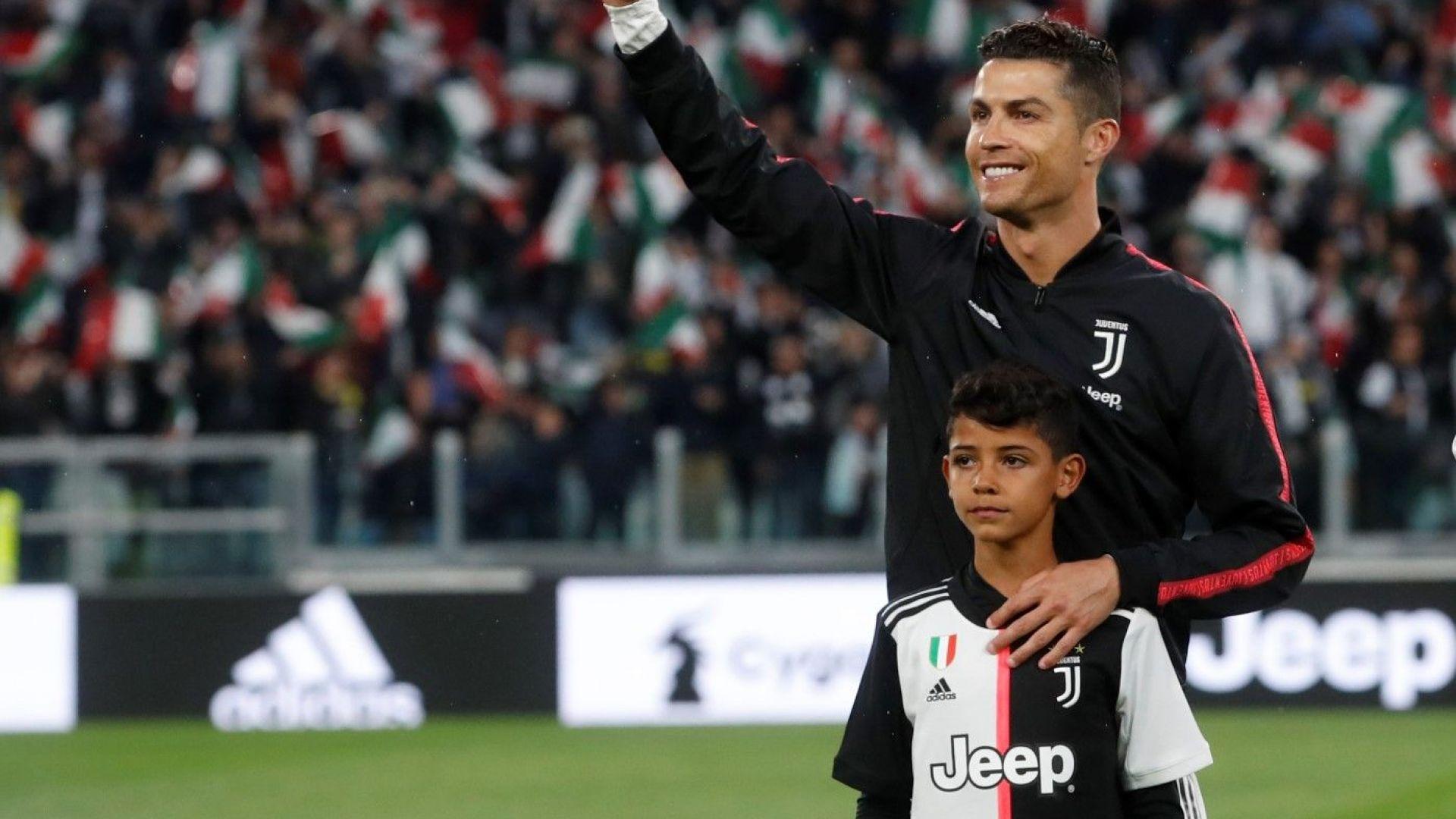 Спортинг поиска малкия Кристиано Роналдо