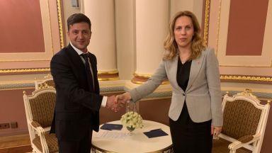 Марияна Николова и президентът Зеленски обсъдиха туризма