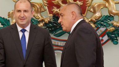 Радев отвърна на Борисов и каза кога ще обяви състава на служебния кабинет