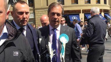 """Млечният шейк - новото """"оръжие"""" в предизборната кампания във Великобритания"""