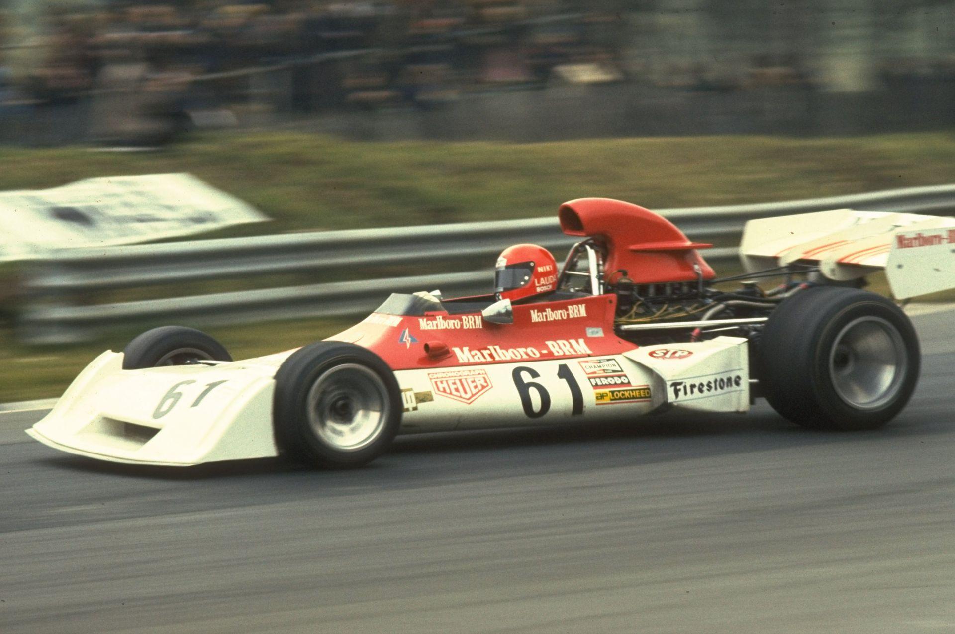 1973 г. - В болида на Marlboro BRM вече като пилот във Формула 1