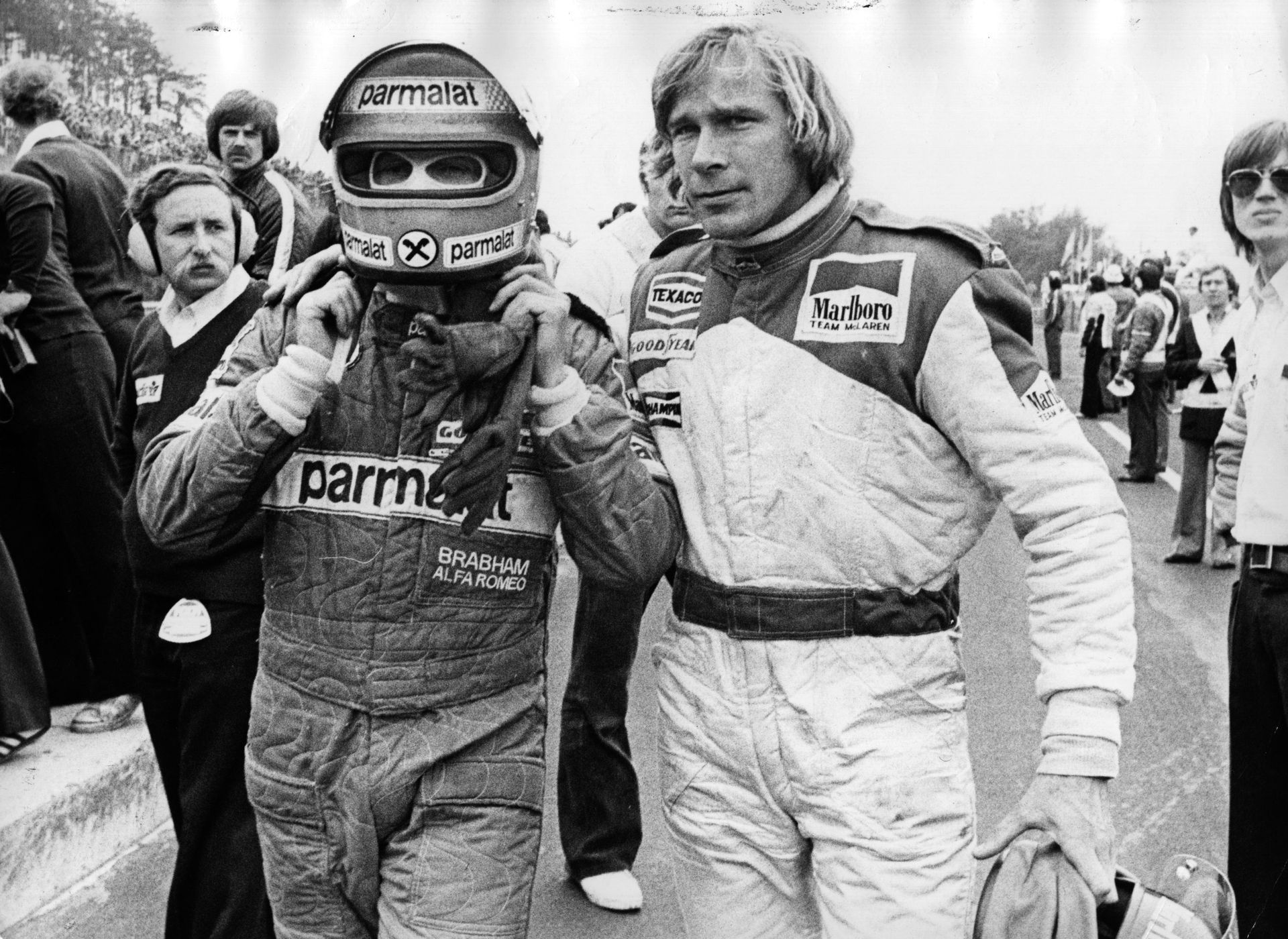 Съперничеството му с Джеймс Хънт е едно от символните в историята на Формула 1