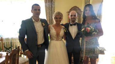 Владимир Зографски се ожени