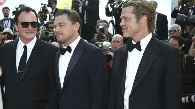 Новият златен триъгълник в киното: Брад Пит, Леонардо ди Каприо, Тарантино