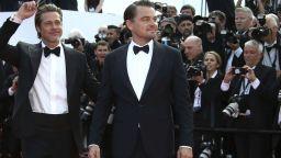 Пит, Ди Каприо и Тарантино обраха овациите в Кан (снимки)