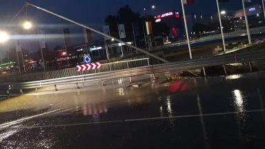 След похвала от Борисов: Пропадна ремонтирано за 113 млн. лева кръстовище във Варна