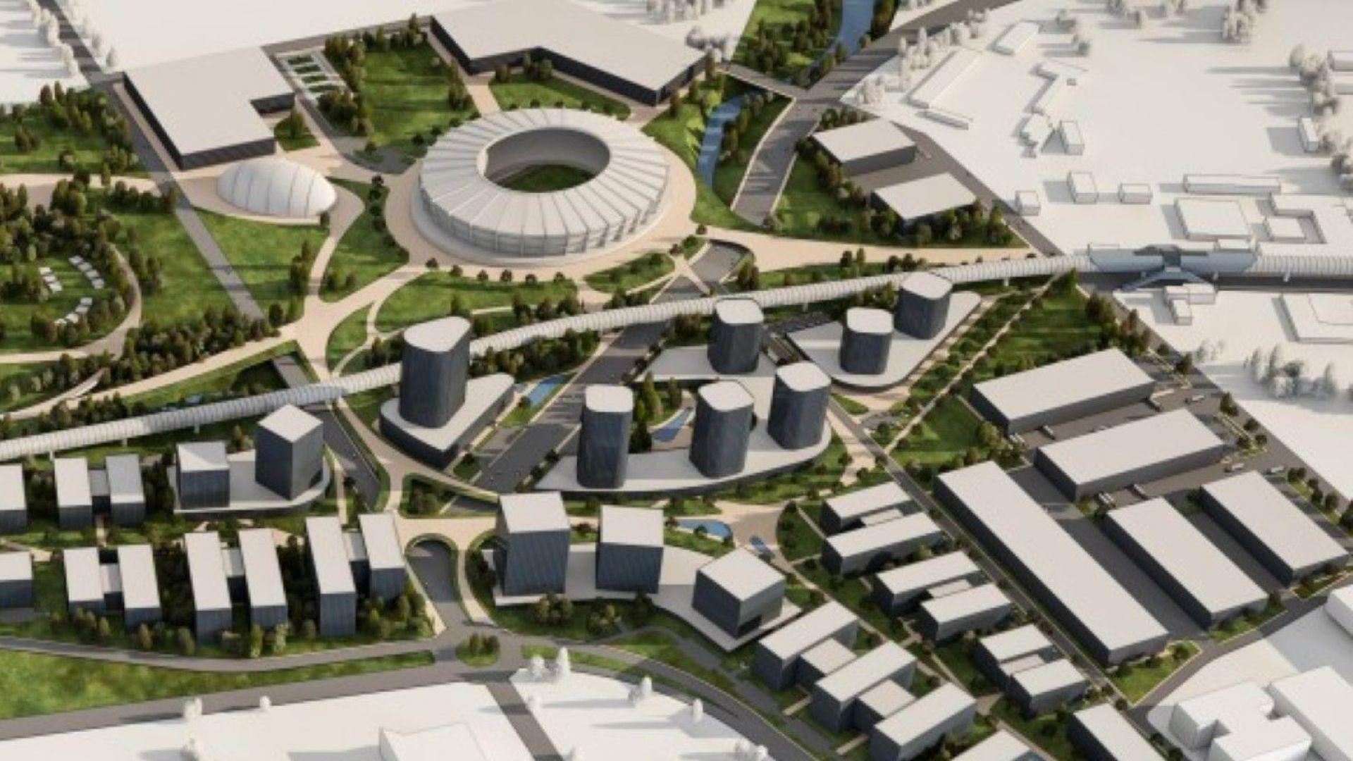 Инвеститор е готов с 600-милионен проект за нов Национален стадион в София