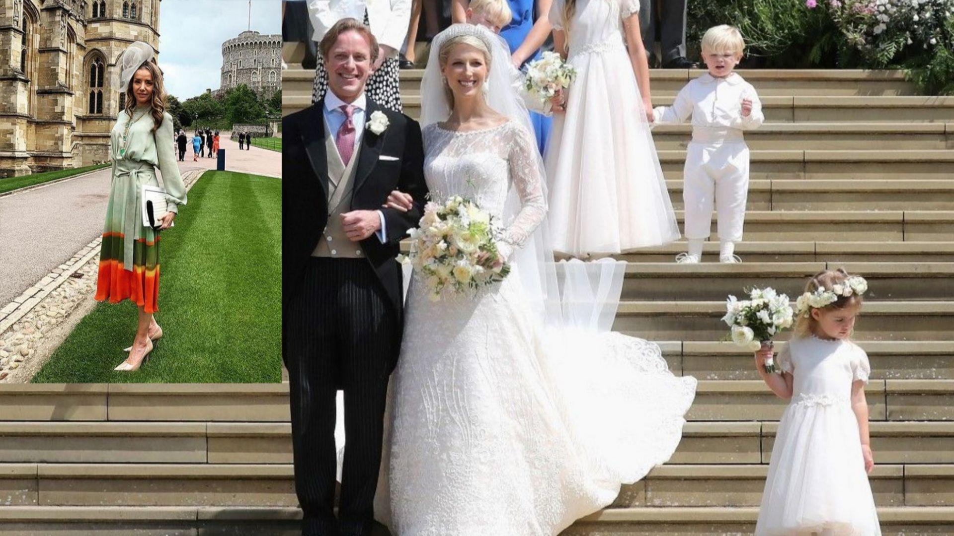 Княгиня Мириам била на сватбата на Габриела Уиндзор