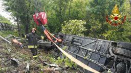 40-годишна екскурзоводка е загиналата в автобусната катастрофа в Италия