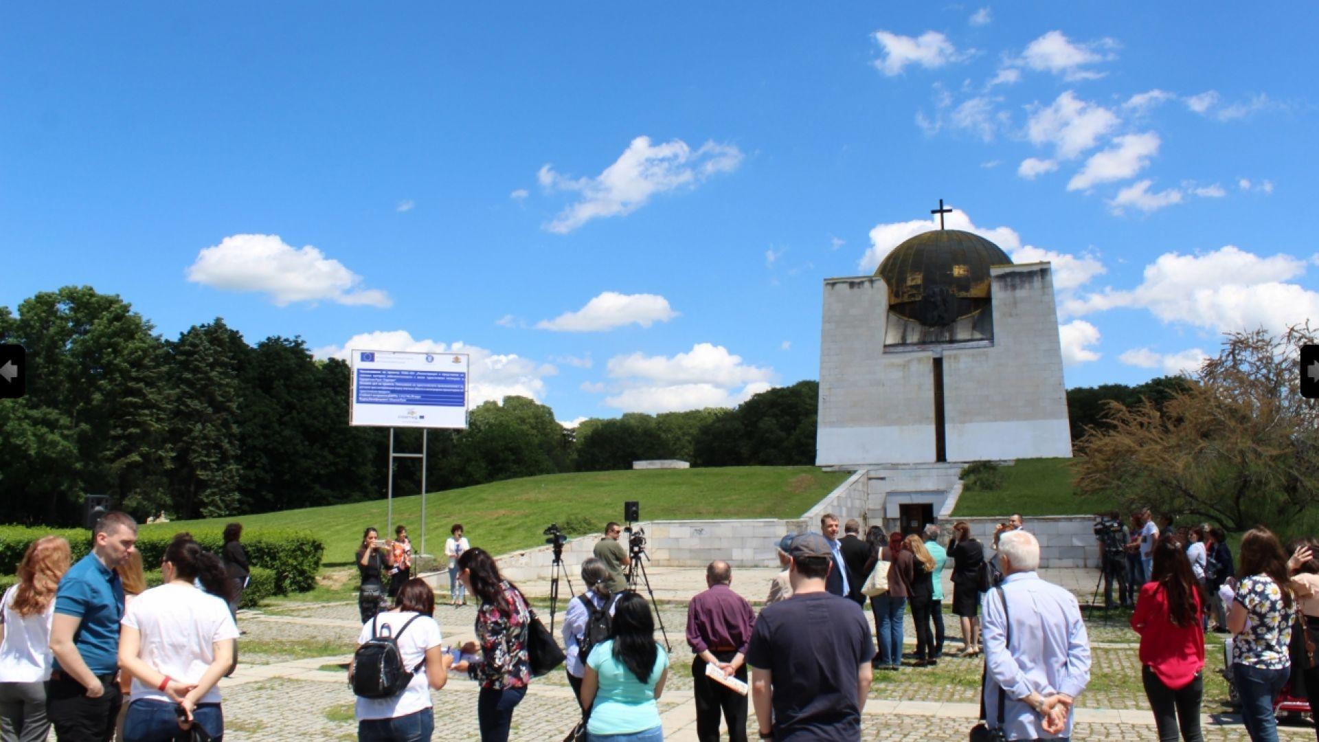 Пантеонът на възрожденците в Русе ще бъде ремонтиран с 1,8