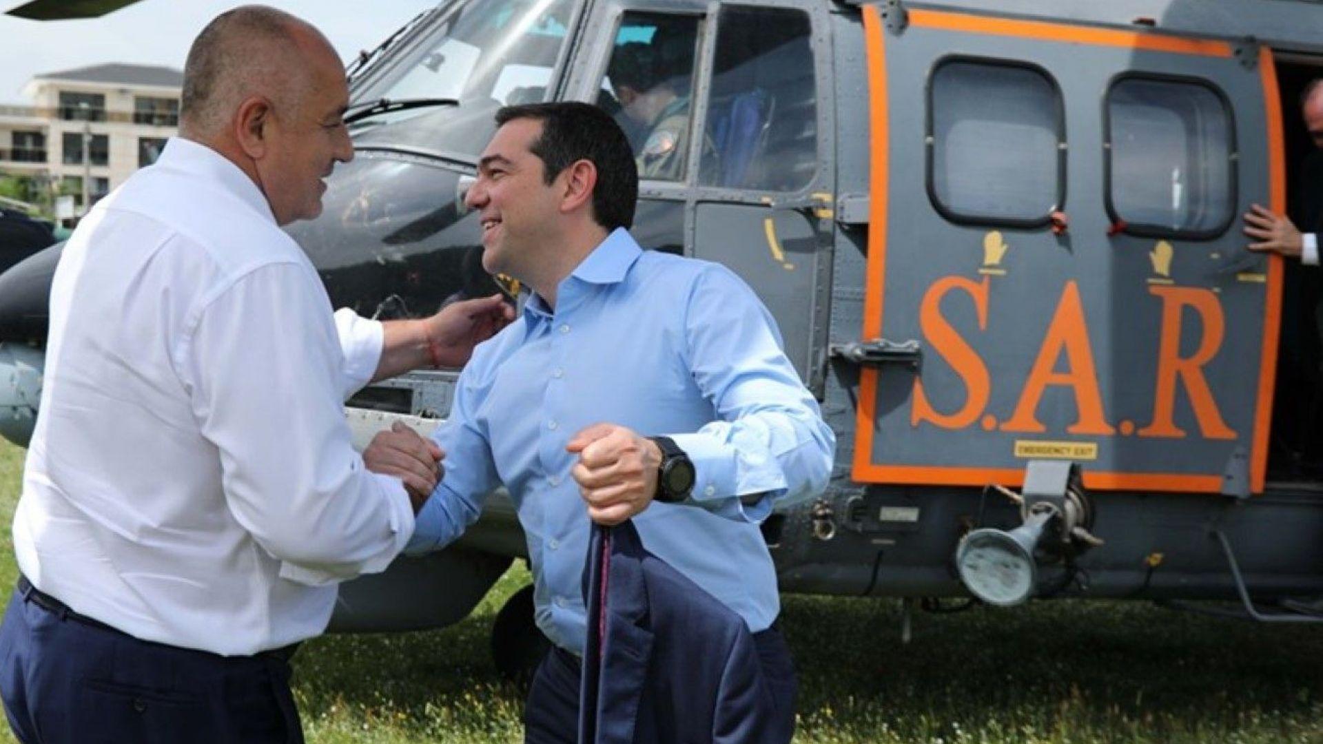 """От Гърция: Борисов и Ципрас - """"сигурни доставки на гориво при по-ниски цени"""""""