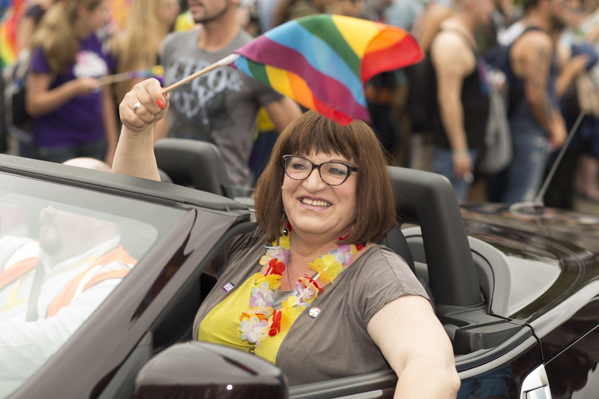 Анна Гродзка стана първи транссексуален депутат в католическа Полша през 2011 г.