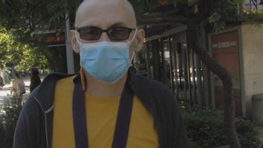 6 г. затвор грозят банковия охранител, счупил ръката на мъж с медицинска маска