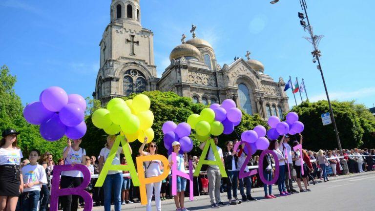 110 блока на шествието на 24-ти май във Варна