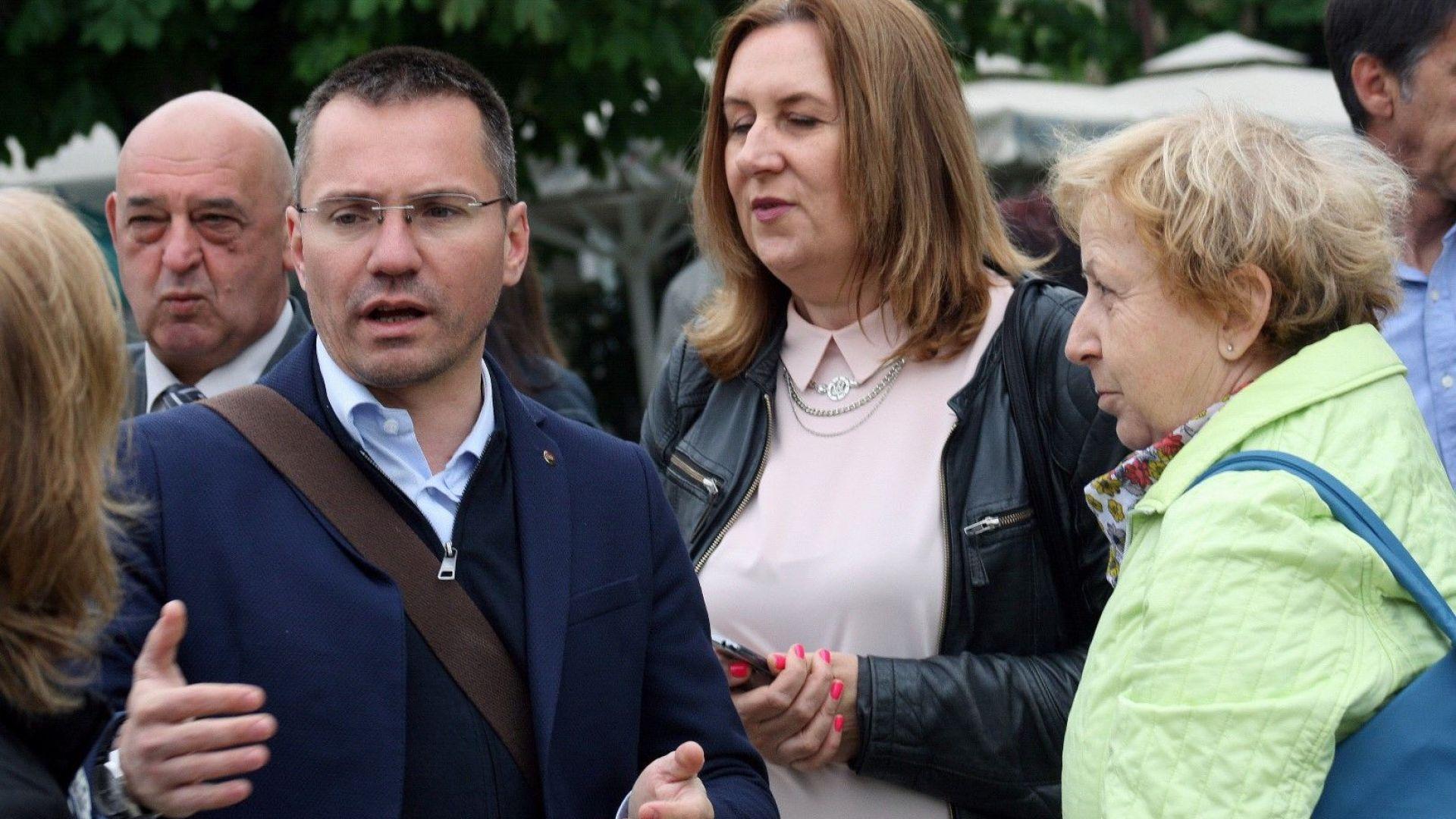 ВМРО и БНТ влязоха в спор по повод не излъчването