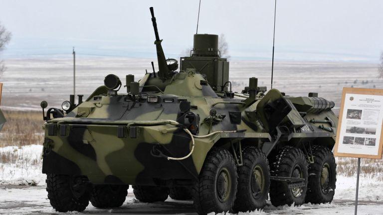 Руските спецслужби хванаха контрабандни БТР-и от България за Беларус