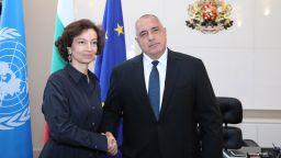 Премиерът пред шефа на ЮНЕСКО: България ще изведе образованието като основен приоритет