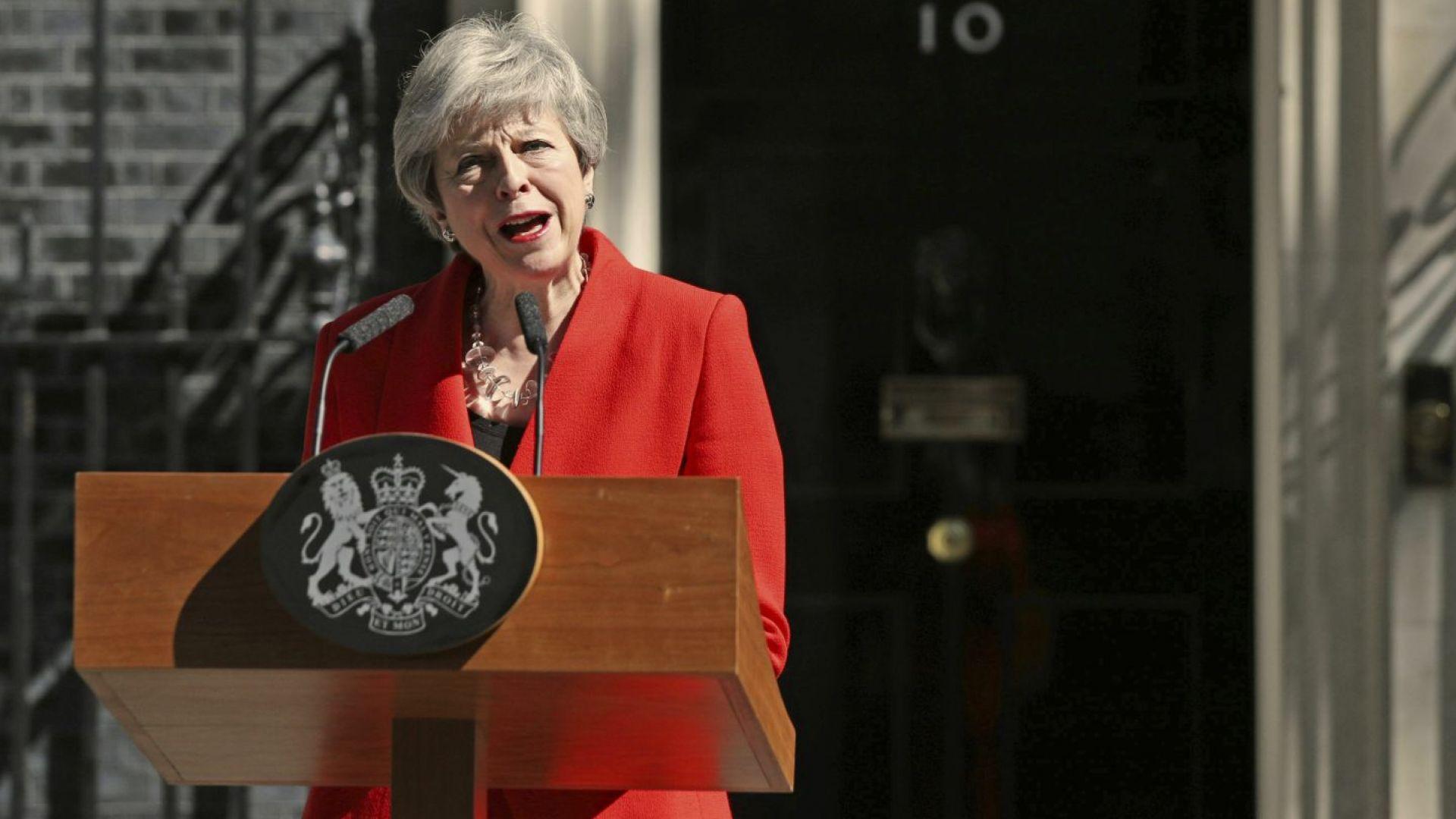 Тереза Мей остава депутат, след като напусне премиерския пост
