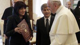 Папата към българската делегация: Бъдете посланици на мира
