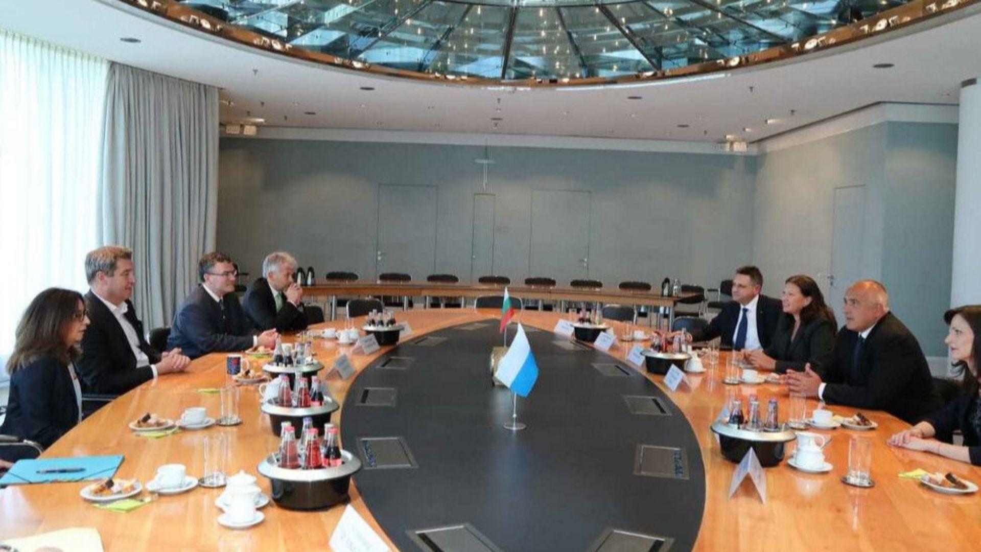 Борисов в Мюнхен: Отношения между България и Германия са отлични (снимки)